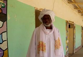 Abdullah Ali Abdullah has spent 30 years working with communities in North Kordofan to encourage abandonment of female genital mutilation. © UNFPA Sudan